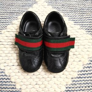 Gucci Guccissima leather toddler shoes size 5